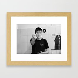 KRAVITZ Framed Art Print