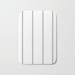 Minimal Black White Stripe Glam #2 #lines #decor #art #society6 Bath Mat