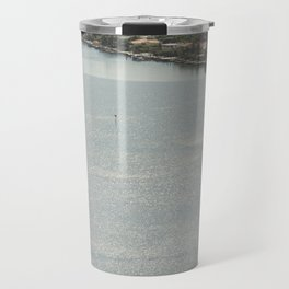 Biscayne Bay Skyline Travel Mug