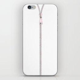 Zip It iPhone Skin