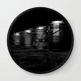 Four Lenses Wall Clock