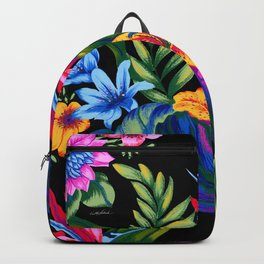 Let's Go Abstract Backpack