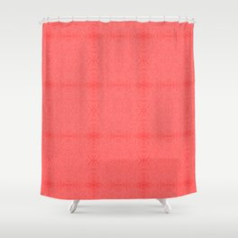 tangled, red pattern Shower Curtain
