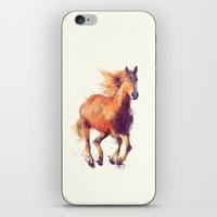 horse iPhone & iPod Skins featuring Horse // Boundless by Amy Hamilton