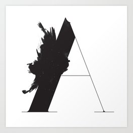 A is for Astronom Art Print