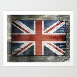 Great Britain, Union Jack Art Print