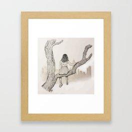 Climb Framed Art Print
