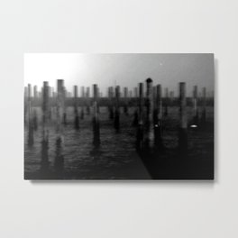 harbor storm Metal Print