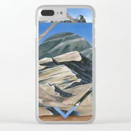 Great Colorado Sand Dunes Clear iPhone Case