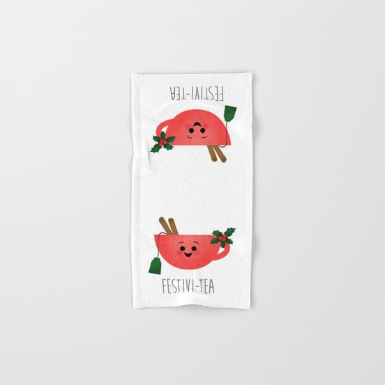 Festivi-tea Hand & Bath Towel