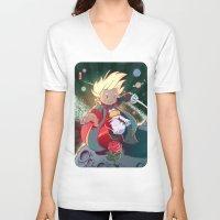 le petit prince V-neck T-shirts featuring Le Petit Prince by Jordan Lewerissa