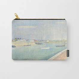 The Channel of Gravelines, Georges Seurat Carry-All Pouch