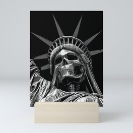 Liberty or Death B&W Mini Art Print