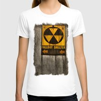 fallout T-shirts featuring Fallout Shelter by Julie Maxwell