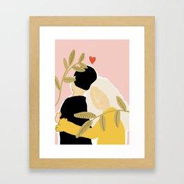 Blind Love II Framed Art Print