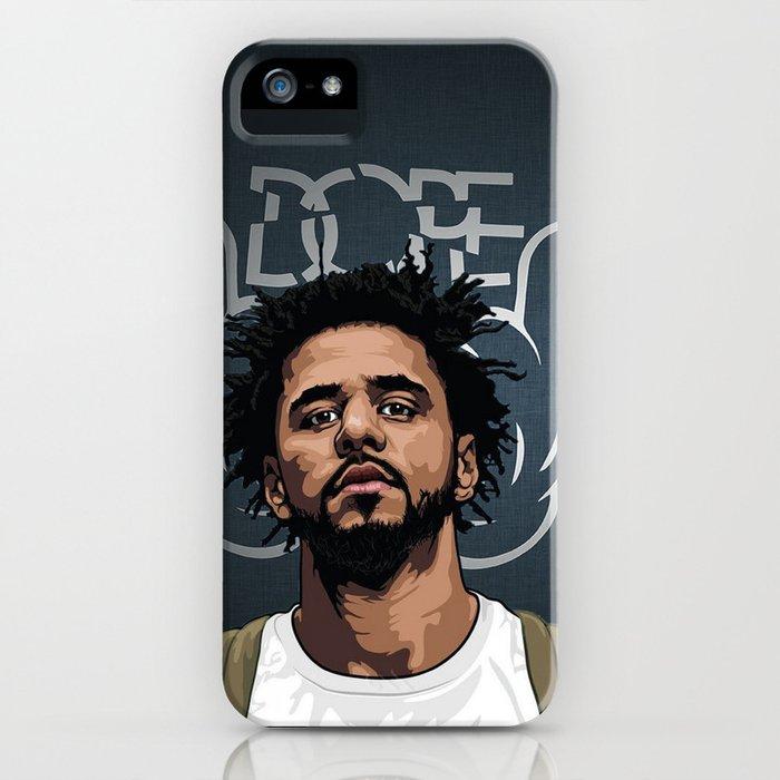 J cole iPhone Case