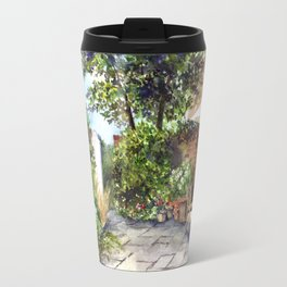 Terrace of The Manor House Travel Mug
