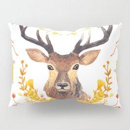 Autumn Deer Pillow Sham