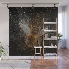 Bees Are Magic Wall Mural