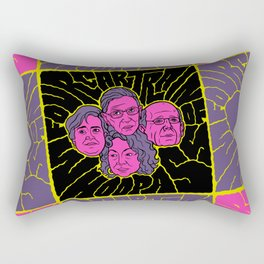 Four-Car Train of Whoop Ass Rectangular Pillow
