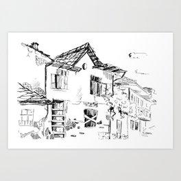 Dryanovo - the old town Art Print