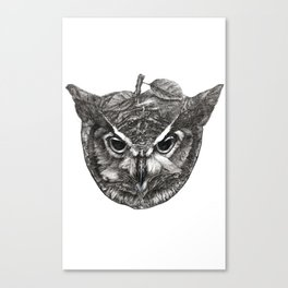 Owl Be Watching Canvas Print