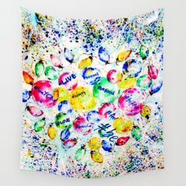#BE Wall Tapestry