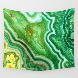 Green Onyx Marble Wall Tapestry