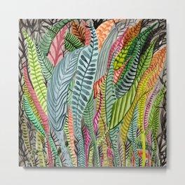 Sea Plants Metal Print