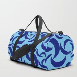 Many Moons - Blue Duffle Bag