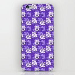 Swanky Mo Purple iPhone Skin