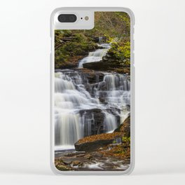 Mohican Falls Clear iPhone Case