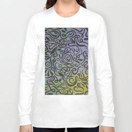 Blue vines  Long Sleeve T-shirt