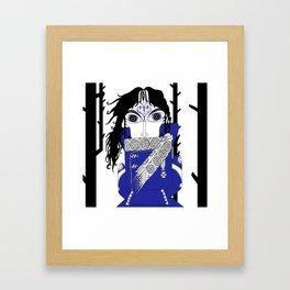 The Queen of Spades - Herman Framed Art Print