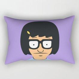 Tina Belcher Rectangular Pillow