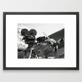 Mitchell movie camera DC-3 Framed Art Print