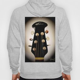 VINTAGE ACOUSTIC GUITAR HEAD PHOTOGRAPHY Hoody
