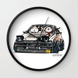 Crazy Car Art 0135 Wall Clock