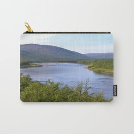 River Landscape Summer Scenery Carry-All Pouch