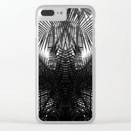 BW fern Clear iPhone Case