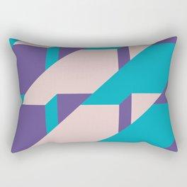 Abstract Glow #society6 #glow #pattern Rectangular Pillow