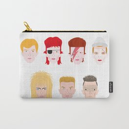David Bowie, faces of his life Carry-All Pouch