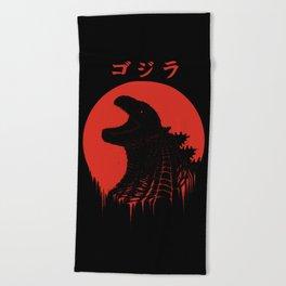 Kaiju Regeneration Beach Towel