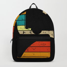 Sunset Garbage Truck Driver Kids Trash Recycling  Backpack