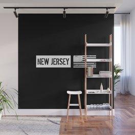 U.S. Flag: New Jersey Wall Mural