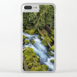 A River's Path Clear iPhone Case
