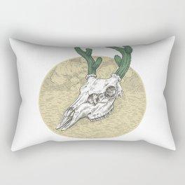 Deer Cactus Rectangular Pillow