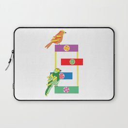 Birds in the playground Laptop Sleeve