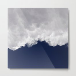 Rumble Blue Metal Print