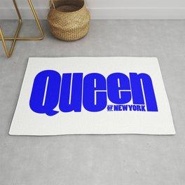 Queen of New York (Blue) Rug